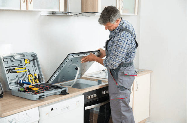 stove repair service in toledo